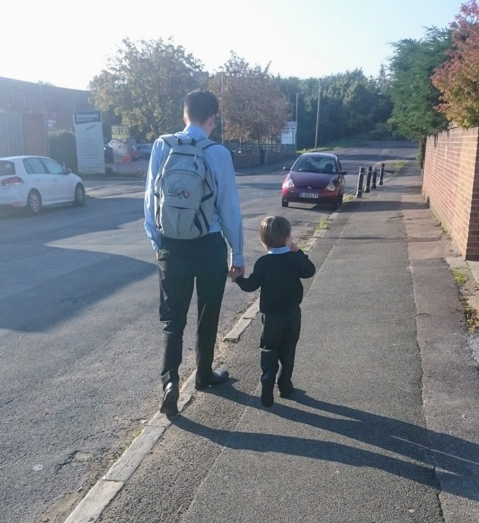 appealing a primary school offer, kent county council, walking to primary school, first day of school