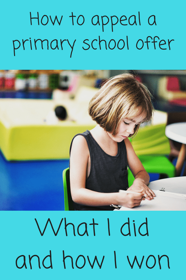 How I appealed our primary school offer and won! #primaryschool #reception #appeal #nurseryschool #receptionclass
