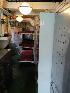 HMS cavalier, bunkbeds, historic dockyards chatham, chatham dockyards