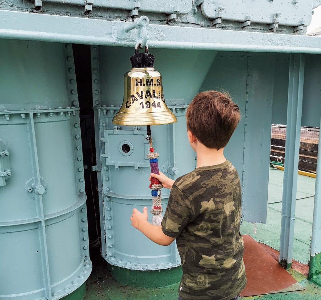 HMS Cavalier, chatham dockyard, historic dockyards chatham, days out in kent