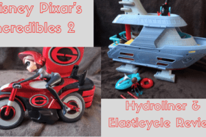 disney pixar, incredibles 2, elasticycle, hydroliner