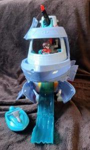 disney pixar, incredibles 2, hydroliner, elastigirl,