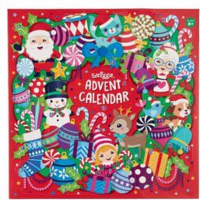 smiggle advent calendar, christmas