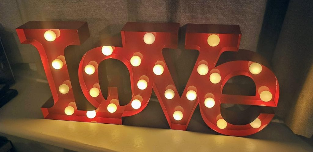 valentines day gift, carnival love light, findmeagift
