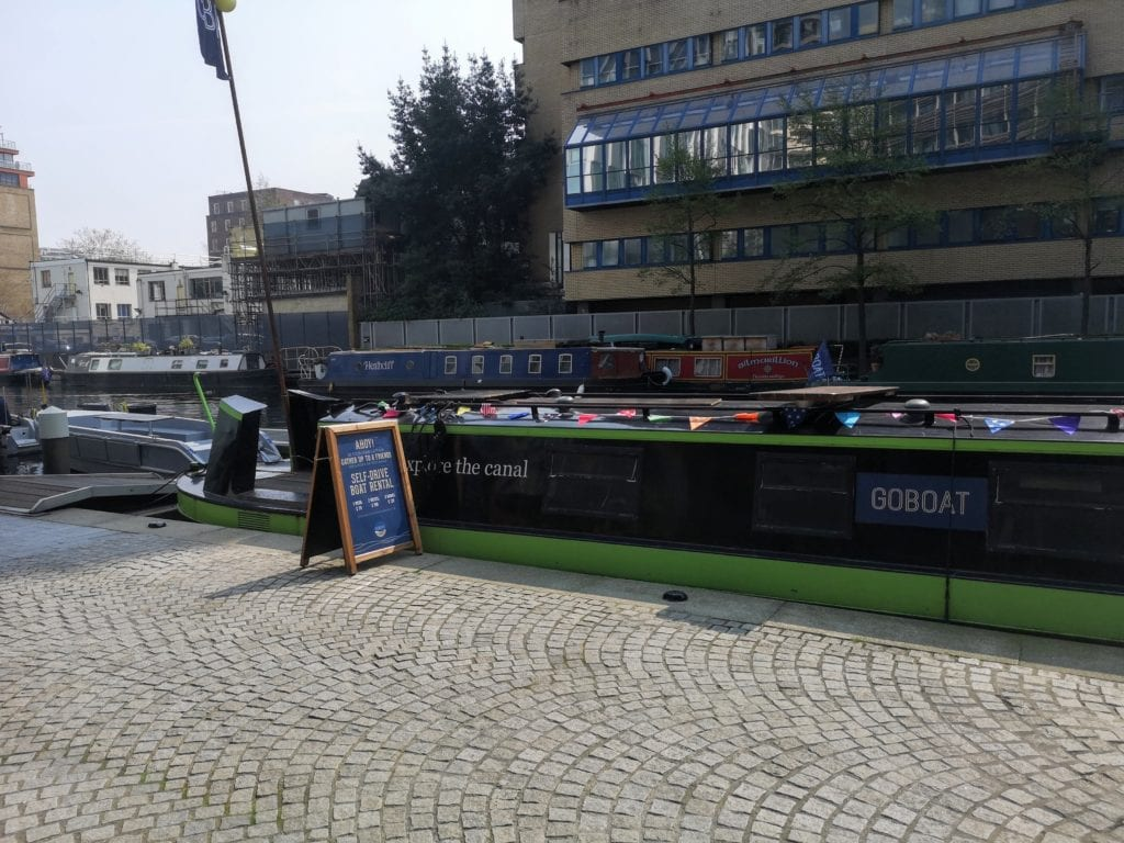 go boat, paddington grand canal, regents canal, bosting in london, canals in london,, boat hire in london