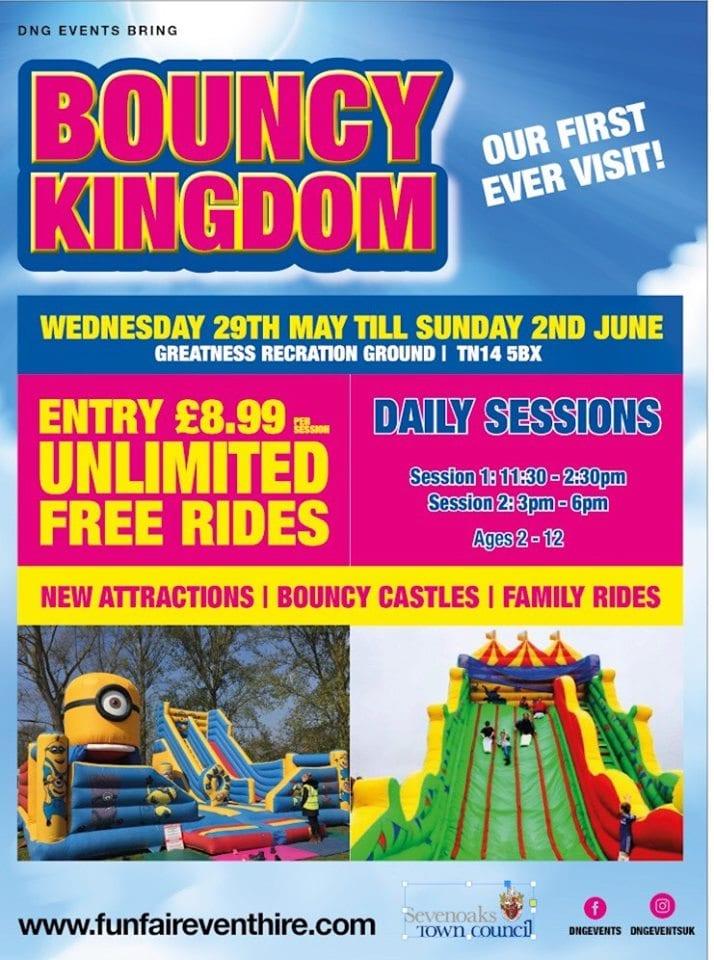 bouncy kingdom in Sevenoaks