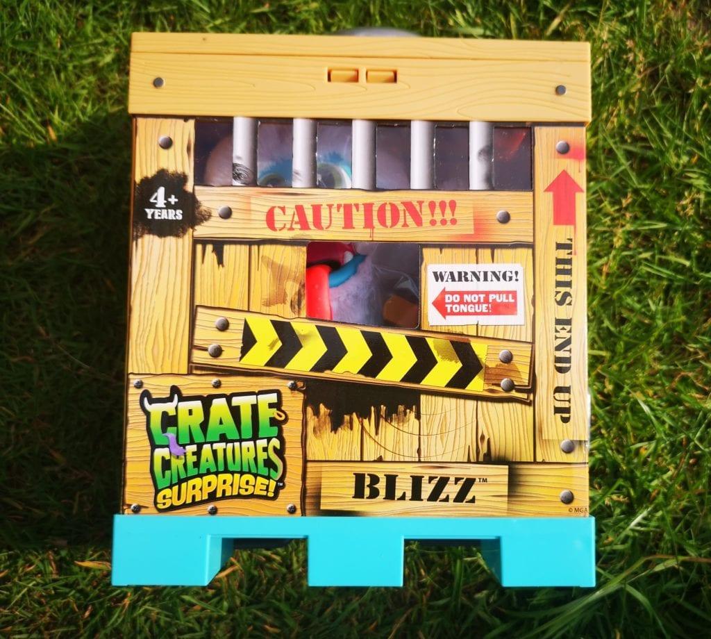 Crate Creture surprise - crate