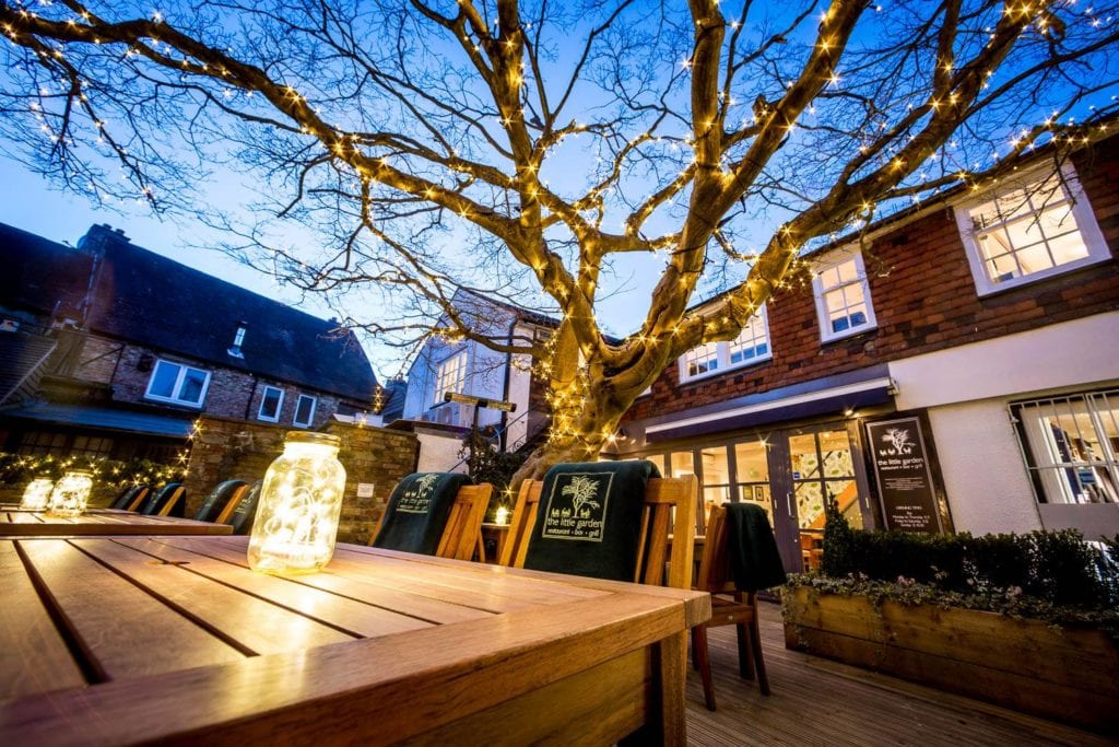 The Little Garden Restaurant Sevenoaks, foodie, well court