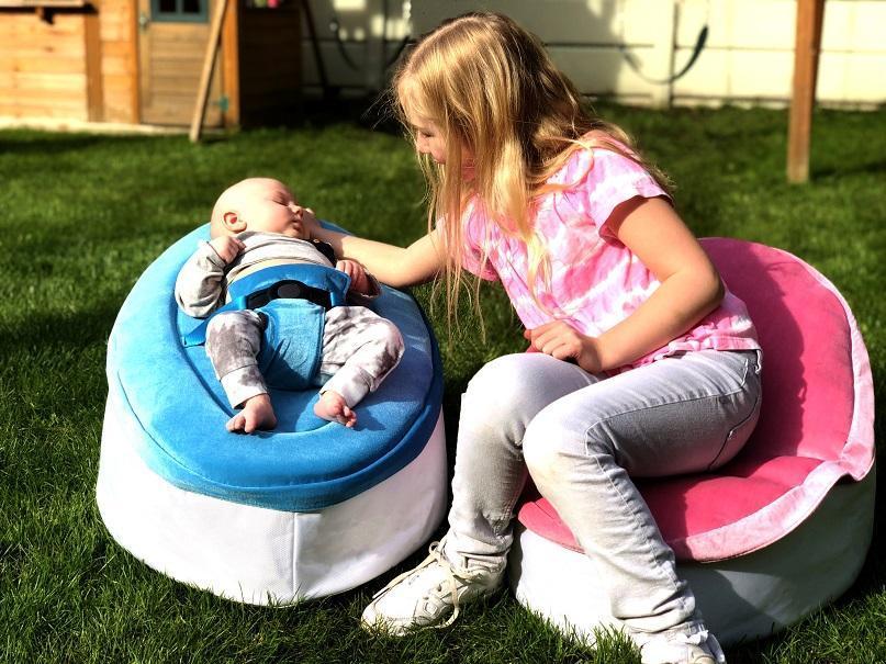 Snuggle Seat baby bean bag