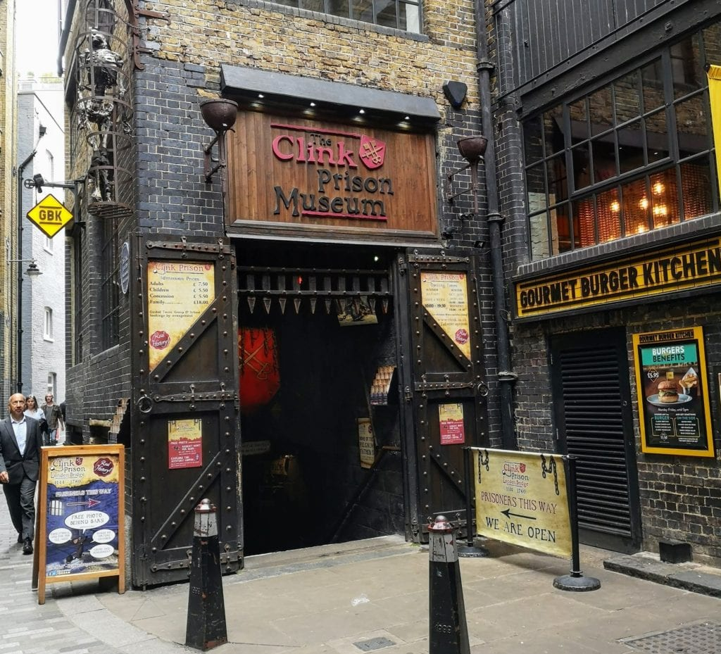 the clink, medieval prison, london, borough market, london bridge