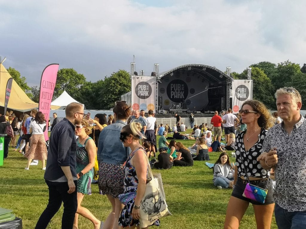 pub in the park, tom kerridge, dunorlan park, tunbridge wells, days out in kent, festivals in kent, live music