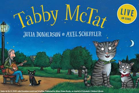 tabby mctat, julia donaldon, tabby mctat live onstage, theatre review, child friendly theatre