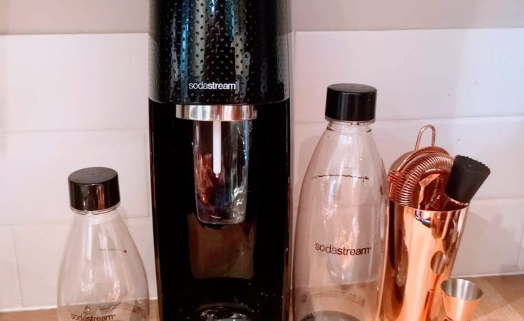 SODASTREAM set plus small bottle