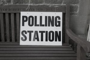 polling station voting