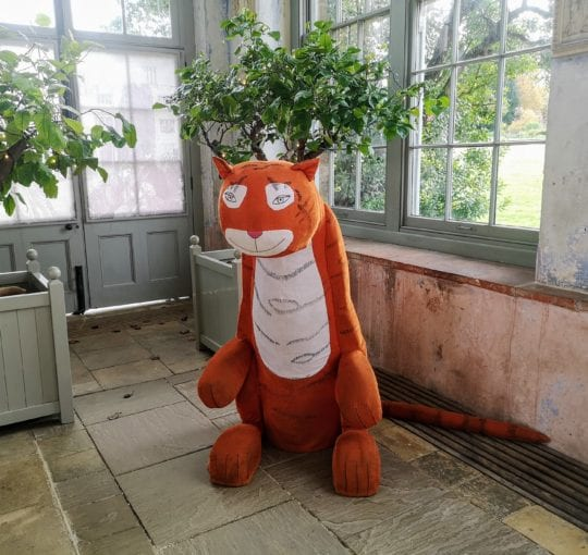 The Tiger Who Came to Tea, Knole Park, National Trust, Judith Kerr