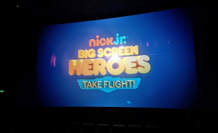Nick Jr Big Screen Heroes, Paw Patrol, Top Wing, Showcase Cinemas