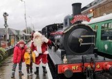 Spa Valley Railway Santa Special