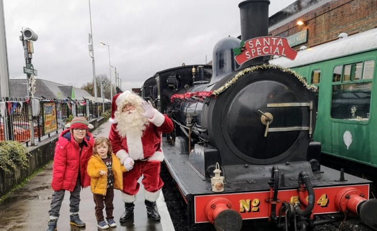 Spa Valley Railway Santa Special