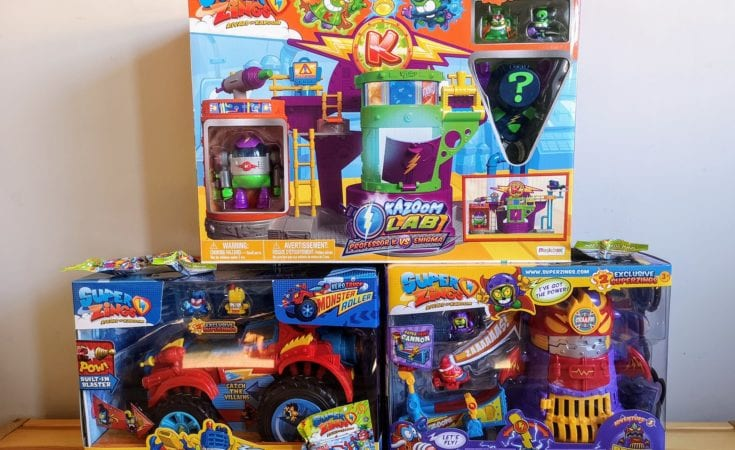 SuperZings Playsets