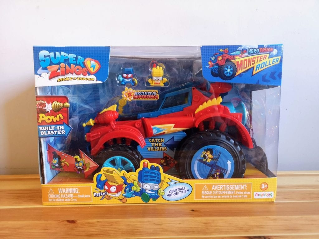 SuperZings Series 3 playset