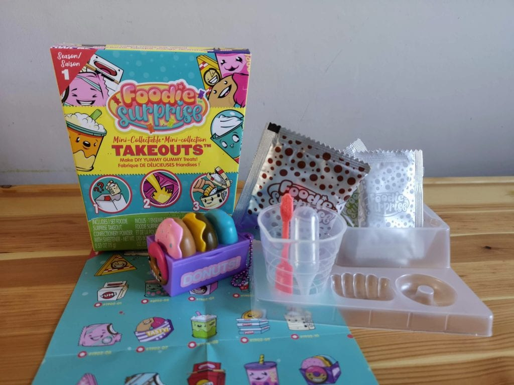 Foodie Surprise Mini Collectable Take Outs - doughnuts