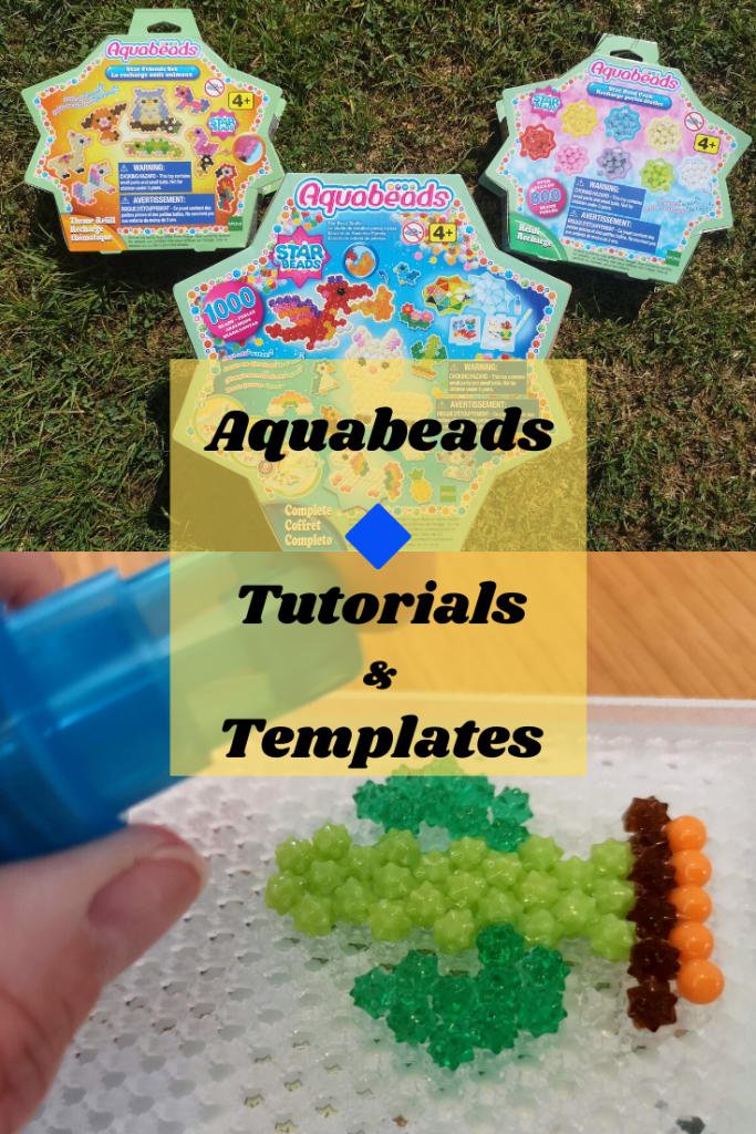 Aquabeads tutorials and templates