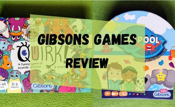 Gibsons Games review - Quirk! & Rockpool