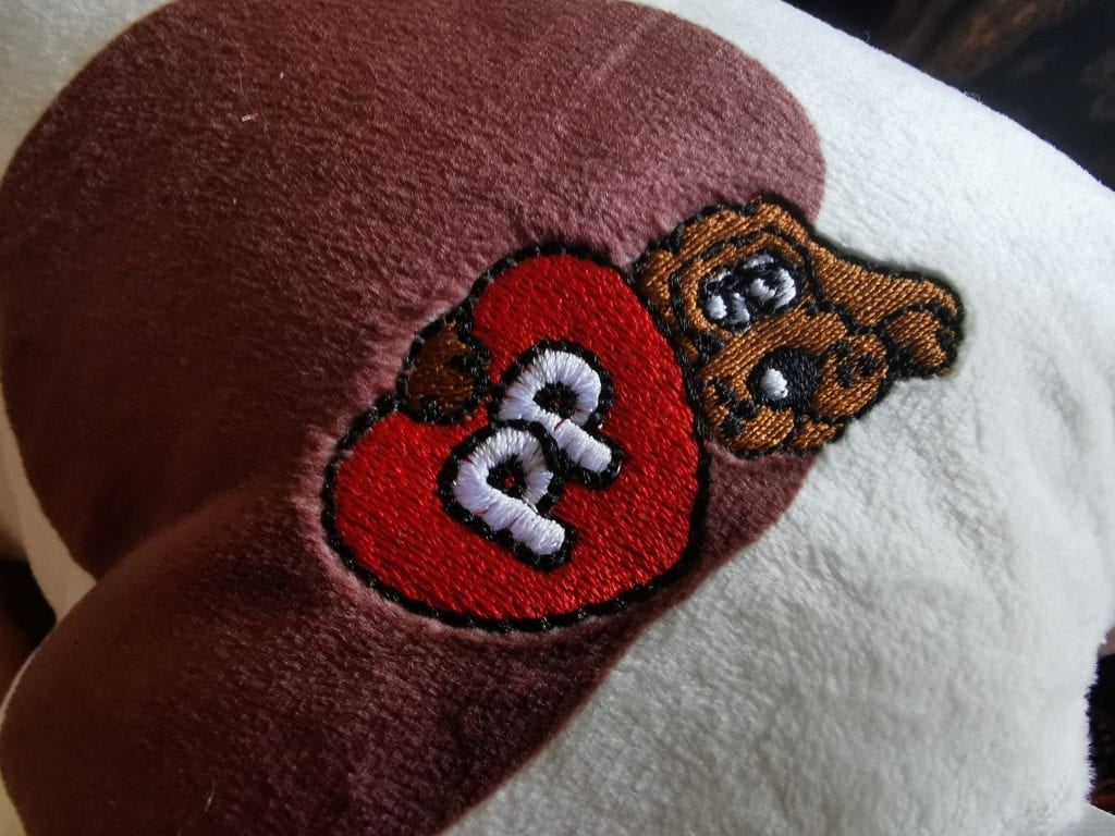Pound Puppies Bottom with the classic PP embroidery