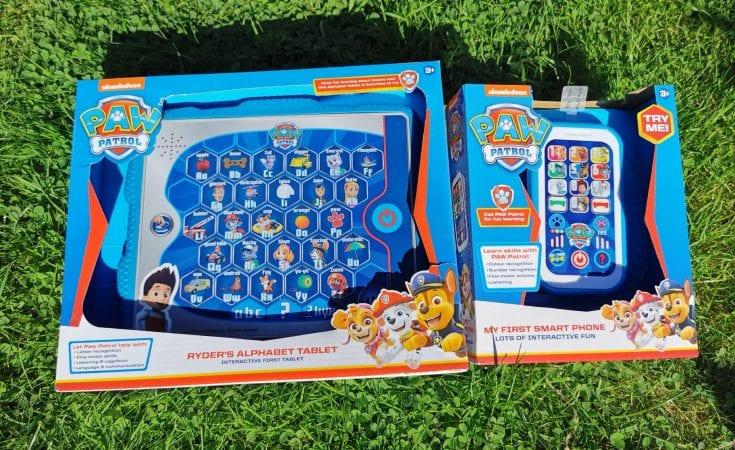 Paw Patrol Ryder's Alphabet Pad & Paw Patrol Smart Phone