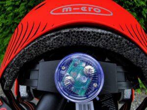 Micro Helmet in red
